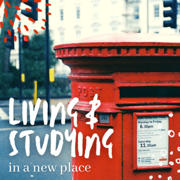 Living and studying in a new place