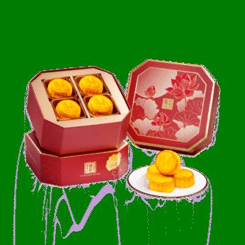 The Peninsula Mini Egg Custard Mooncakes (8 pieces)  / 半島迷你奶黃月餅 (8件裝)